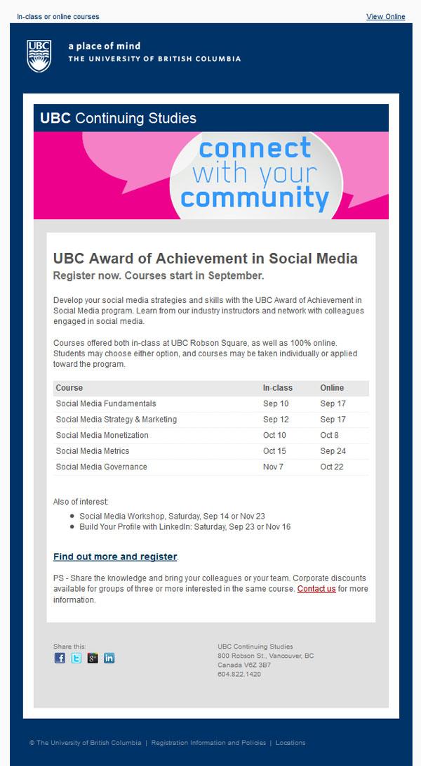 UBC template